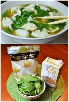 Another win with Trader Joe's Ingredients – Ten Minute Wonton Soup. I love that this has only 3 ingredients!  More Trader Joe's Recipes on Frugal Coupon Living.