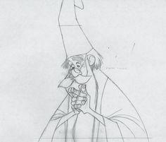 Más que Disney - [MODEL SHEETS] El Arte De: Merlín el encantador - El pincel de Rapunzel