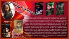 "NAKIA ROBINSON!!   Follow Nakia, author of ""You Call That Love"", ""Love Me…"