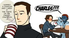 ❤ omg Charles shouldn't be reading Erik's mind a all.(no one knows what he is going to say so stay out. ❤