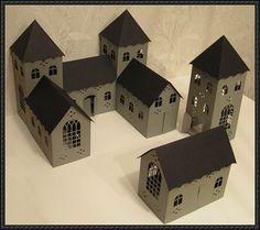 3D Castle Free Building Paper Model Download - http://www.papercraftsquare.com/3d-castle-free-building-paper-model-download.html