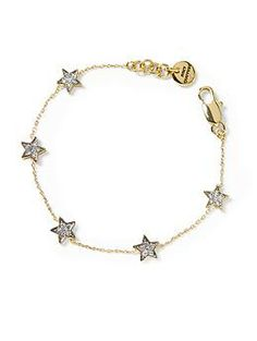 Because it's in the stars! Juicy Couture Tiny Star Bracelet | Piperlime