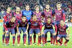 Equipos de fútbol: BARCELONA contra Celtic Glasgow 11/12/2013