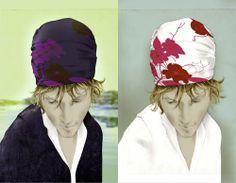 Illustration mode portrait femme bandana Florence Gendre