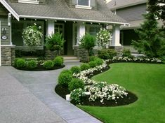 Impressive Front Porch Landscaping Ideas to Increase Your Home Beautiful 07
