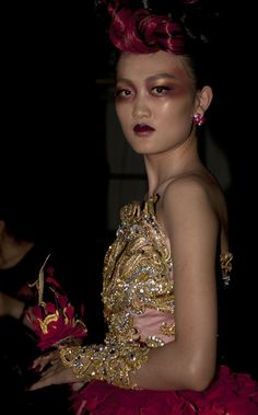 M∙A∙C Backstage at Guo Pei
