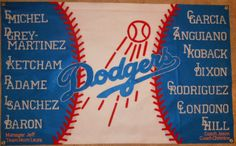 Five Tom Boys and One Prissy Girl: Baseball Banners