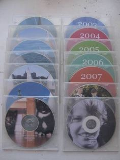 backup pix onto cd once a month...