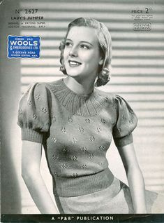 www.fab40s.co.uk patternpages LadyPages3 patons2627a.jpg