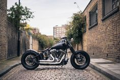 Harley-Davidson Bobber by Ale and Danny Zeus at Zeus Motorcycles East London. Bobber Inspiration
