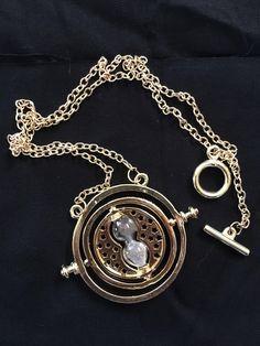 Brand new gold Harry Potter Time Turner! - $10