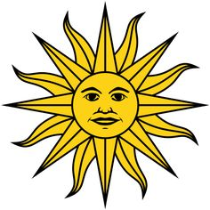 Sun Symbols | Sun of May Symbol