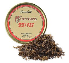 "Dunhill My Mixture BB1938 English Pipe Tobacco Just Added!  ~ Smooth as a Baby's Bottom - Originally called Dunhill ""Baby's Bottom,"" the blend's name was changed to My Mixture BB1938 when it was revived in 2015 though we can't imagine why. Call it what you will, the smooth and harmonious blending of Virginias and Latakia makes this reprised English tinned tobacco rich and robust. Full-bodied and spicy, My Mixture BB1938 is well-suited for the experienced smoker."