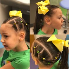 Lainey's hair show Spring/summer hair! Lainey's hair show Easy Little Girl Hairstyles, Girls Natural Hairstyles, Cute Girls Hairstyles, Princess Hairstyles, Pretty Hairstyles, Easy Toddler Hairstyles, Kids Braided Hairstyles, Girl Hair Dos, Hair Shows