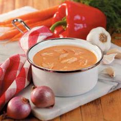Salmon Bisque Recipe -Nutrition experts recommend 2 fish meals per week. This soup recipe from Barbara Parks of… Crab Bisque, Seafood Bisque, Bisque Soup, Tomato Bisque, Fish Recipes, Seafood Recipes, Soup Recipes, Cooking Recipes, Salmon Bisque Recipe