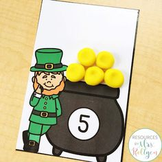 Celebrate St. Patrick's Day with your preschoole, kindergarten, or homeschool students with these 10 St. Patrick's Day fine motor skills activities. The activities can be used multiple ways, but they help develop fine motor skills of prek or kinder students. These low-prep activities may require some prep work like laminating, and they are perfect for small groups, morning tubs, centers, or any time you want your students to practice their skills this spring. #StPatricksDay #FineMotorSkills