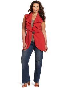 Neon Buddha Women's Plus-size Solsbury Hill Vest Jacket