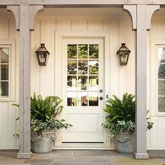 Farmhouse front door... LOVE!!!!!