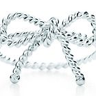 Tiffany twist bow ring in sterling silver, $250...I love this! @Tricia Sealy