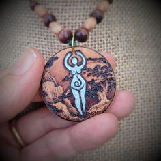2016 Earth Elemental Pendant by parizadhe.deviantart.com on @DeviantArt