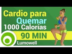 Cardio para Quemar 1000 Calorías - YouTube