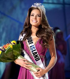 Congratulations to Olivia Culpo, Miss Rhode Island USA, Miss USA 2012, and now Miss Universe 2012