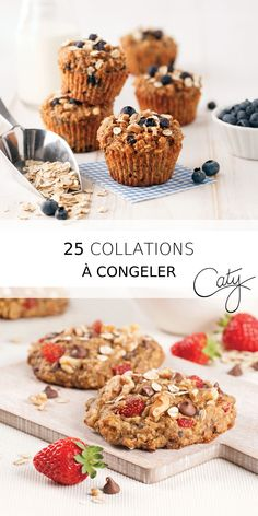 a caty collationsucree collations congeler de les recettes oubliez les c - The world's most private search engine Lunch Snacks, Vegan Snacks, Healthy Snacks, Vegan Recipes, Cooking Recipes, Healthy Cake, Healthy Muffins, Batch Cooking, Commerce