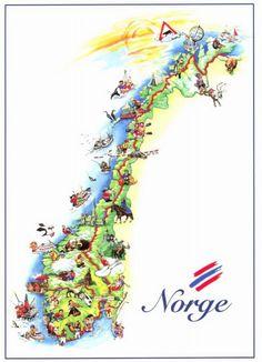 Preikestolen Norway Preekstoel Flickr Photo Sharing Norge - Norway map cartoon