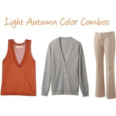 Light Autumn Color Combinations