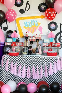 Daddy + Daughter Sock Hop Valentine's Day Party