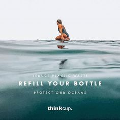 It's time to invest in a reusable water bottle! Stay hydrated this Winter whilst being environmentally responsible🌿 . K Cups, Stay Hydrated, Plastic Waste, Glass Bottles, Water Bottle, Ocean, Earth, Winter, Instagram