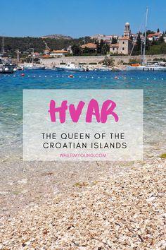 Travel Tips For Europe, Europe Destinations, Travel Abroad, Budget Travel, Khao Lak Beach, Lamai Beach, Croatia Travel Guide, Hvar Croatia, Croatian Islands
