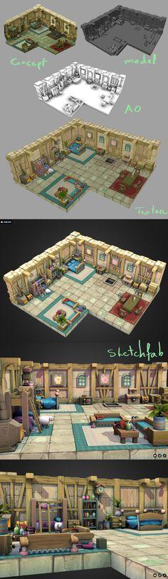 ArtStation - Dofus 3D fanart, cgart. vn