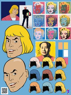 TOLL TROLL HE MAN ANDY - WARHOL - referencias