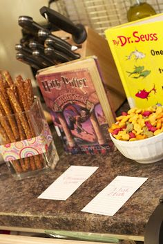 Johnson and Johnson: A Childrens Book Birthday Party --- host a book-nic with food from books