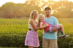 Family photography sunset / Sugar Snap Studio