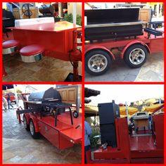 BBQ trailer Custom Bbq Grills, Custom Bbq Pits, Bbq Pit Smoker, Barbecue Pit, Backyard Smokers, Backyard Bbq, Bar B Que Pits, Bar B Que Grills, Bbq Equipment