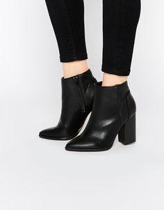 Изображение 1 из Ботинки на блочном каблуке New Look