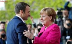 """Merkel diz que vitória de Macron em eleições parlamentares na França é """"voto forte por reformas"""""""
