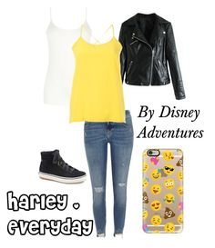 """""""Harley . Stuck in the Middle . Everyday"""" by disney-adventures ❤ liked on Polyvore featuring Keds, Oasis, River Island, Christian Wijnants and Casetify"""