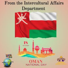 The ICA department would like to wish Oman Latvia and Morocco a Happy Independence Day . Independence Day Images, Happy Independence Day, Oman National Day, Morocco, Arabic Quotes, Images On Independence Day, Quotes In Arabic