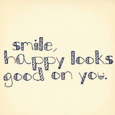 #Smile :) #Happy Looks Good on You <3
