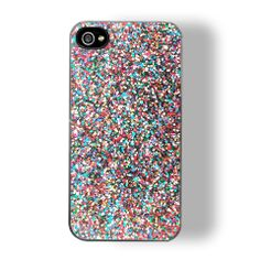 Is that your phone case or did Ke$ha just walk by? You'll be sure to catch some wandering eyes with the space out sparkle in your hands.