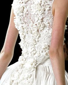 Alexander McQueen, let the master inspire your wedding creation...