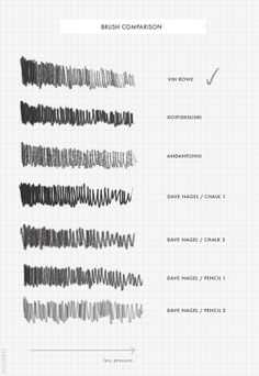 pencil brushes for photoshop