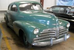 Parked For 48 Years: 1946 Chevrolet Stylemaster - http://barnfinds.com/parked-for-48-years-1946-chevrolet-stylemaster/