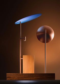 Brazilian Designer Claudia Moreira Salles Uses Unusual Material Nobium in New Lighting.
