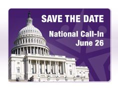 The National Call-in is an opportunity for all Pancreatic Cancer Action Network supporters across the country to join together with one voice to tell Congress that while you can't attend Advocacy Day in person, you believe that the time has come for Congress to take action on pancreatic cancer! www.pancan.org/takeaction