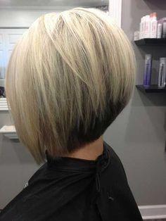 Einfache gestapelt bob Frisur für Frauen