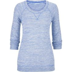 maurices Hacci Slub Knit Lightweight Pullover (14 CAD) ❤ liked on Polyvore featuring tops, sweaters, shirts, long sleeves, true blue, knit pullover sweater, long sleeve shirts, blue knit sweater, scoop neck shirt and layered sweater